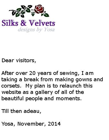 Silks and Velvets | Yosa.com